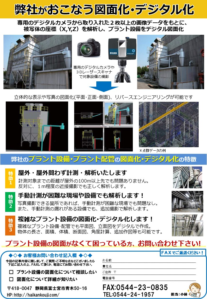 MOCHIKOU省エネ通信7月号 図面化・デジタル化